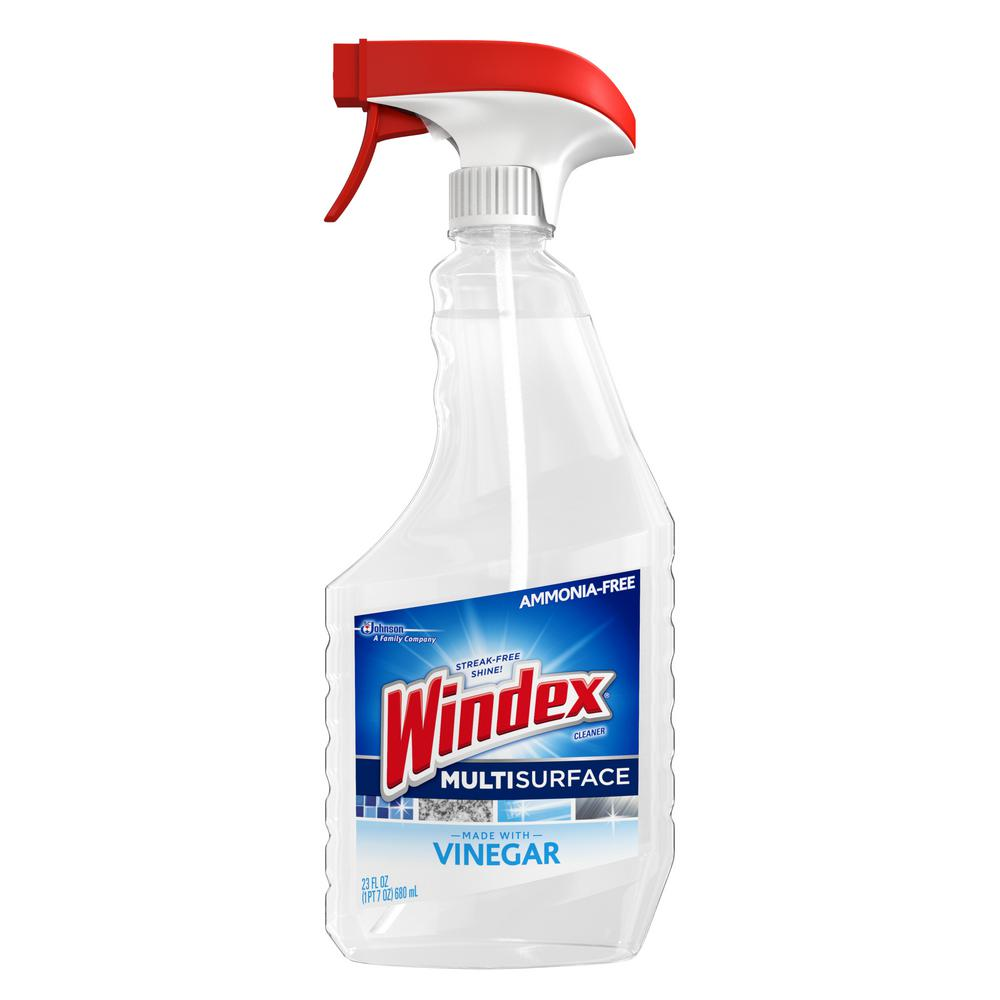 Windex 23 Fl Oz Vinegar Multi Surface Cleaner 679596 The Home Depot