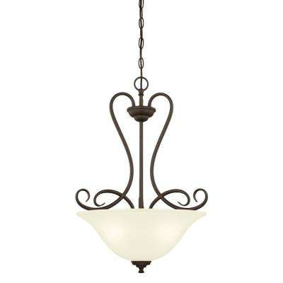 Dunmore 3-Light Oil Rubbed Bronze Pendant