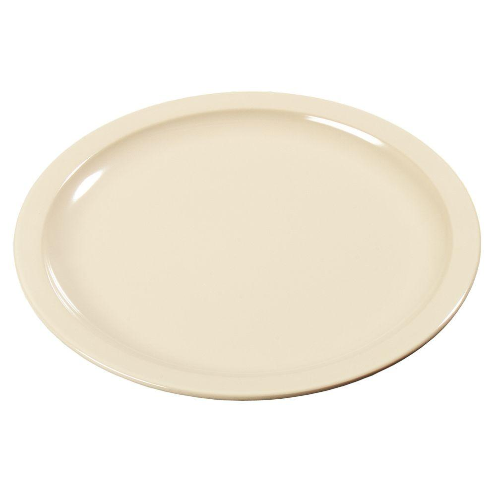 Diameter Melamine Pie Plate in Tan (Case of 48)  sc 1 st  Home Depot : pie plates - pezcame.com