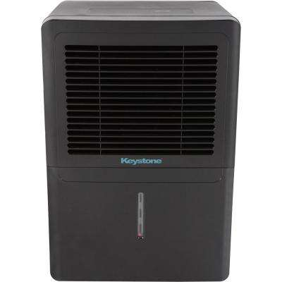 70 pt. Dehumidifier in Black