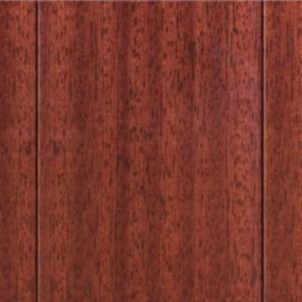 Home Legend High Gloss Santos Mahogany Solid Hardwood Flooring - 4-3/4 in. x 7 in. Take Home Sample