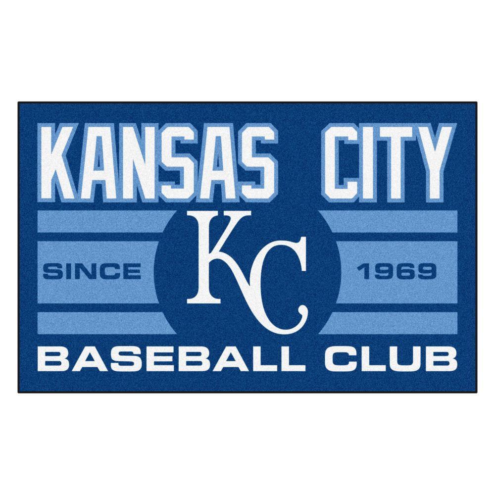 MLB Kansas City Royals Blue 1 Ft 7 In X 2 6