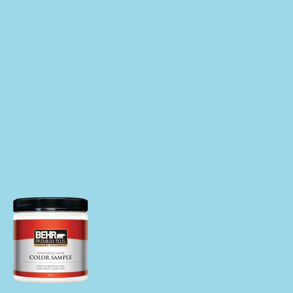 8 oz. #P480-3 Cool Water Lake Interior/Exterior Paint Sample
