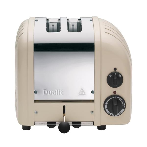 Dualit New Gen 2-Slice Clay Wide Slot Toaster with Crumb Tray