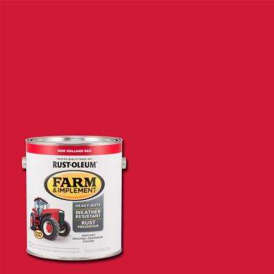 1 gal. Farm and Implement New Holland Red Paint (Case of 2)