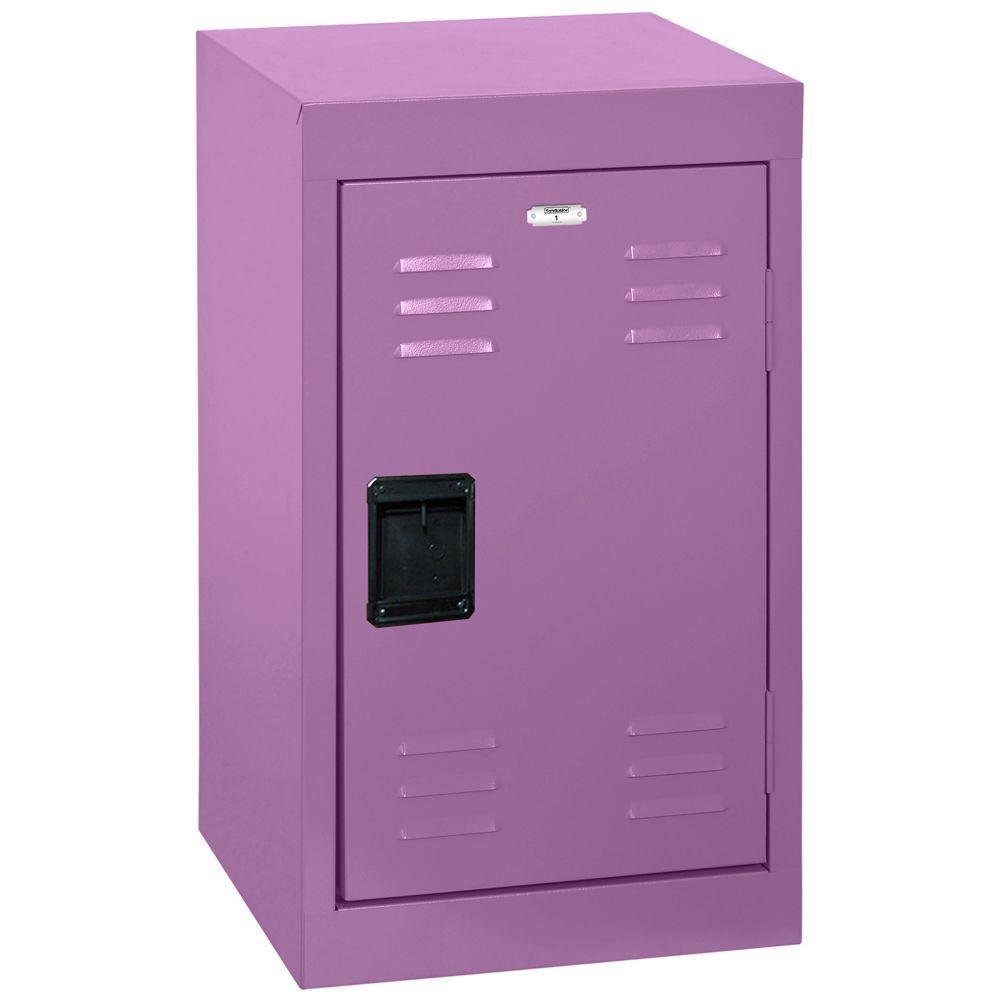 24 in. 1-Tier Steel Locker in Grape Juice