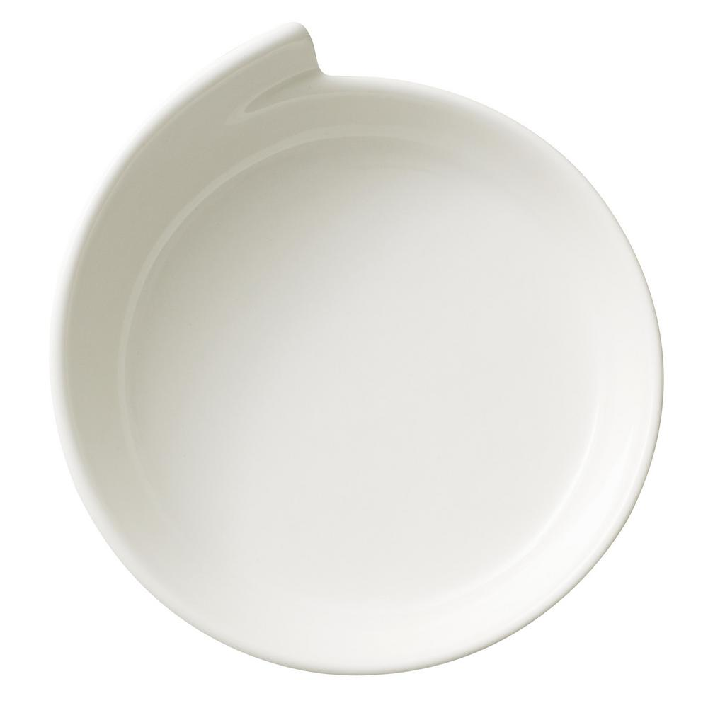 Internet #304123290. Villeroy u0026 Boch New Wave White Porcelain Large Round Dinner Plate  sc 1 st  The Home Depot & Villeroy u0026 Boch New Wave White Porcelain Large Round Dinner Plate ...
