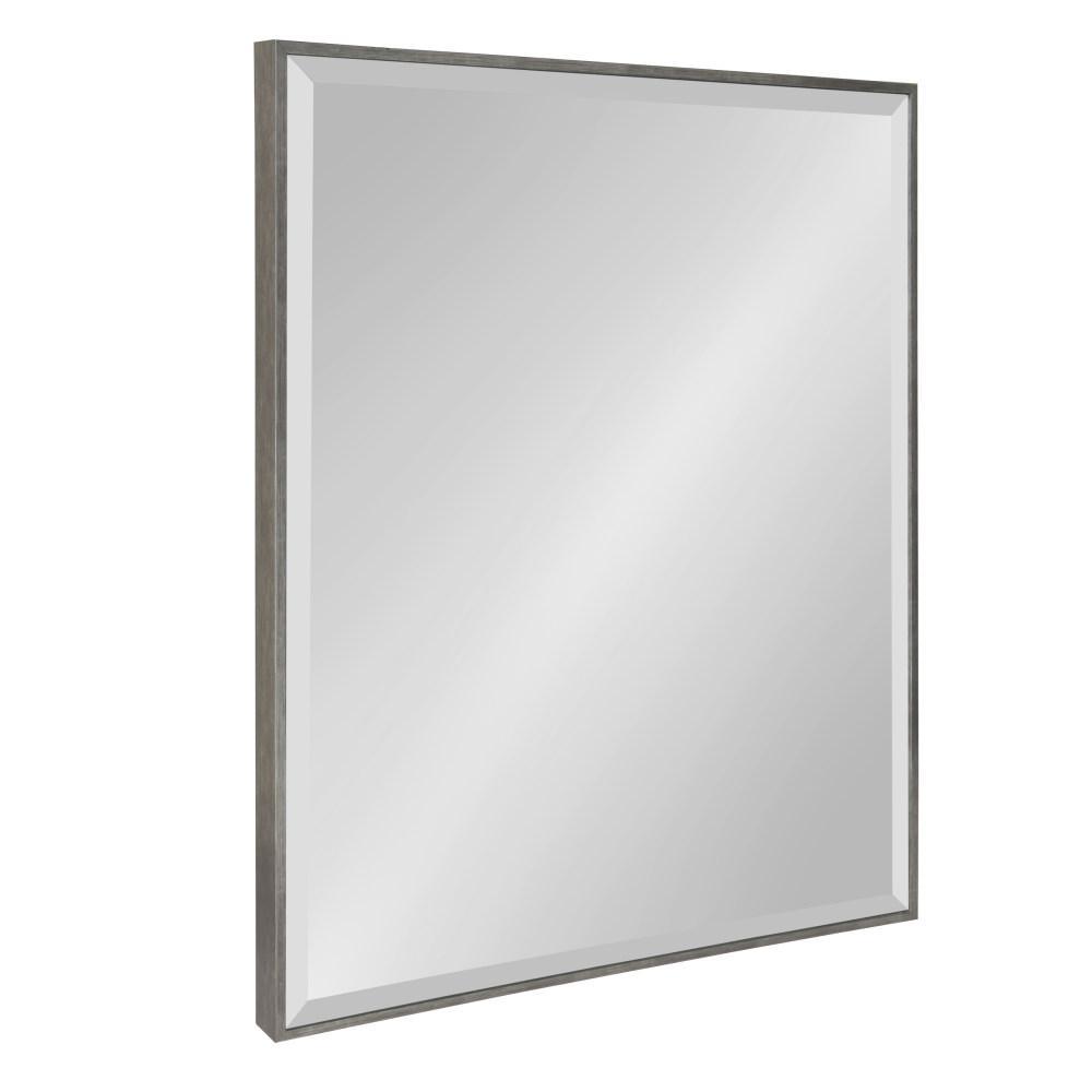 Rhodes Rectangle Silver Mirror