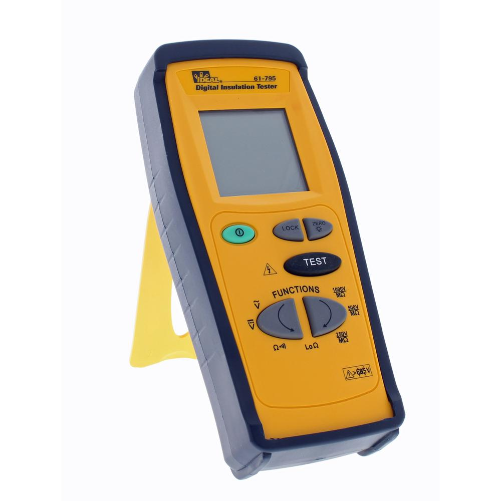 Ideal 250/500/1000-Volt Digital Insulation and Continuity...