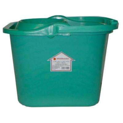 Casa Limpia 16 Qt. Bucket with Strainer and Wheels