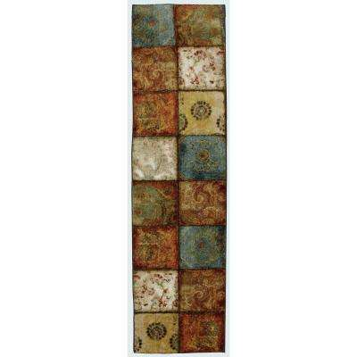 Artifact Panel Multi 2 ft. x 8 ft. Runner