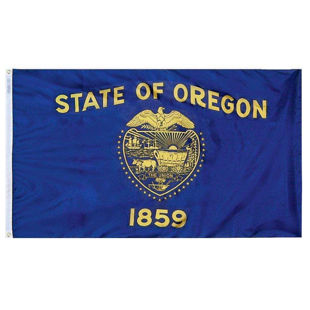 2 ft. x 3 ft. Nylon Oregon State Flag