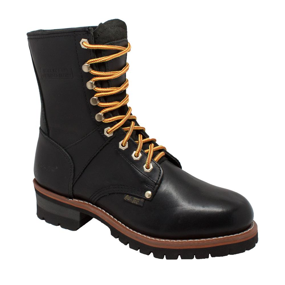 "Ad Tec Men/'s Logger 9/"" Work Boot 1439 Soft Toe"