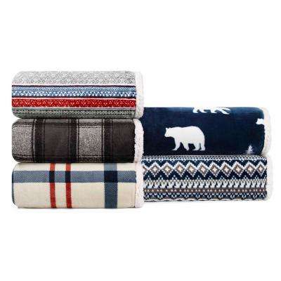 60 in. x 70 in.  Croton Plaid Throw