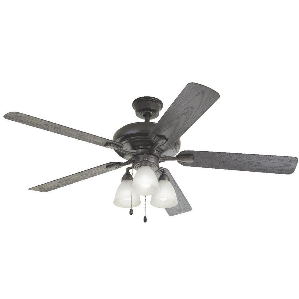 Home Decorators Collection Tino Ii 60 In Led Indoor Outdoor Natural Iron Ceiling Fan