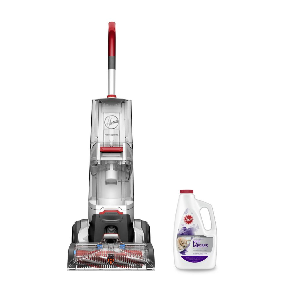 Reviews For Hoover Carpet Cleaning Bundle Professional Series Smartwash Upright Carpet Cleaner And Pet Solution Hv Ccb Hd The Home Depot