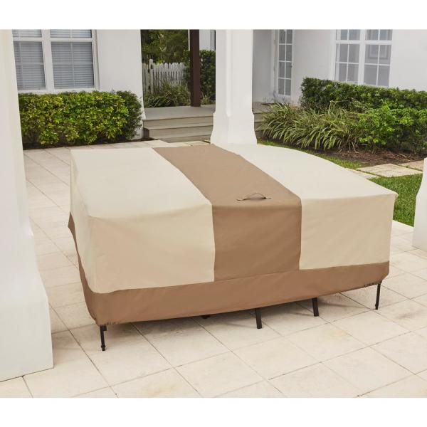 Hampton Bay Table And Chair Outdoor, Patio Furniture Covers