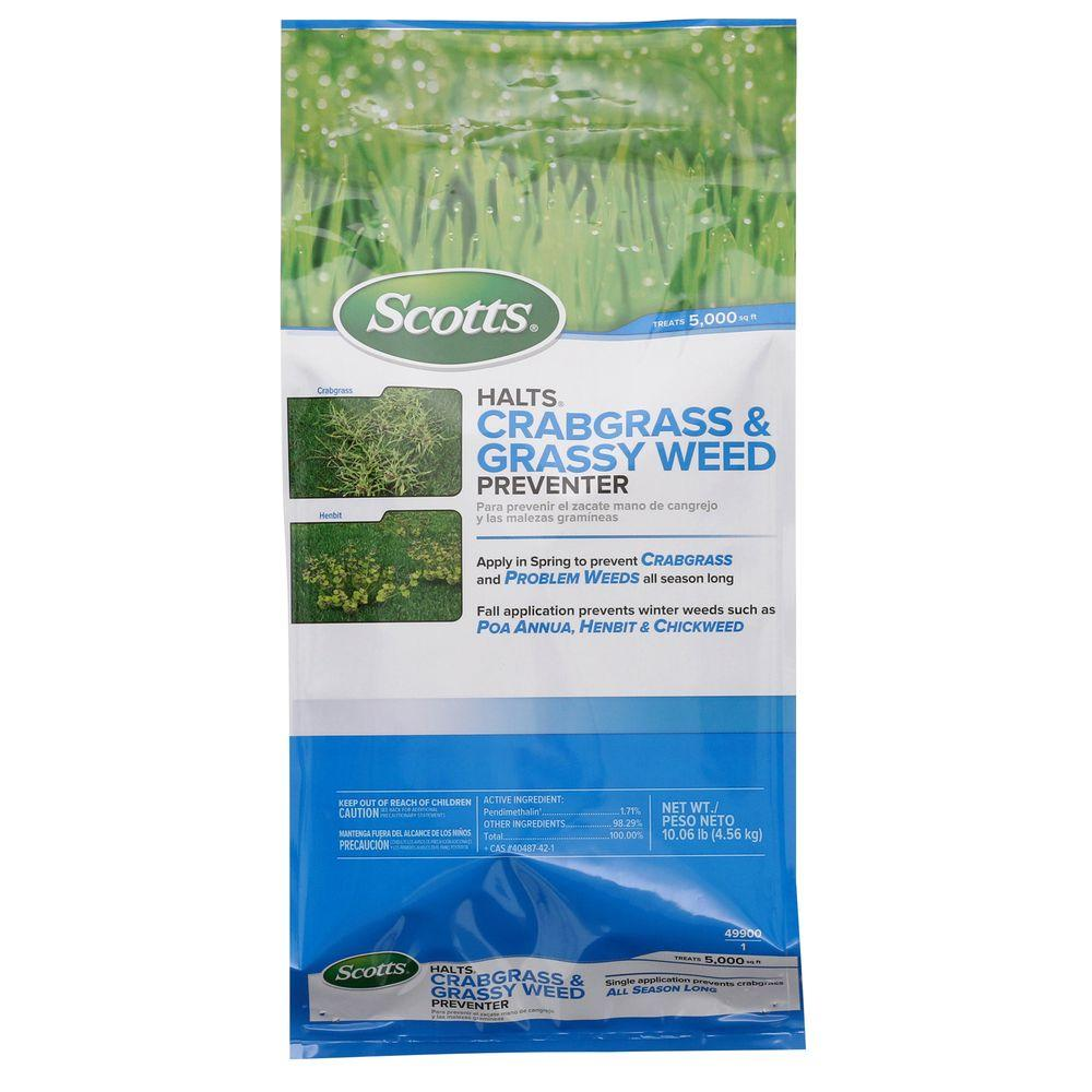 Scotts Halts 11 lb. Crabgrass and Grassy Weed Preventer