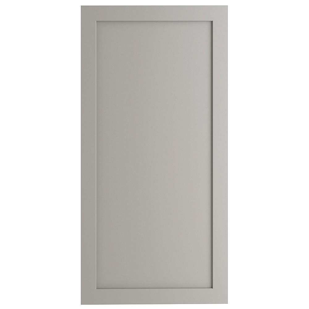 24x80 in. Decorative Pantry End Panel in Gray