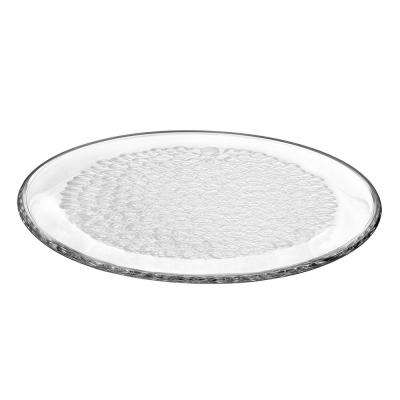 Pearl Round Crystal Platter