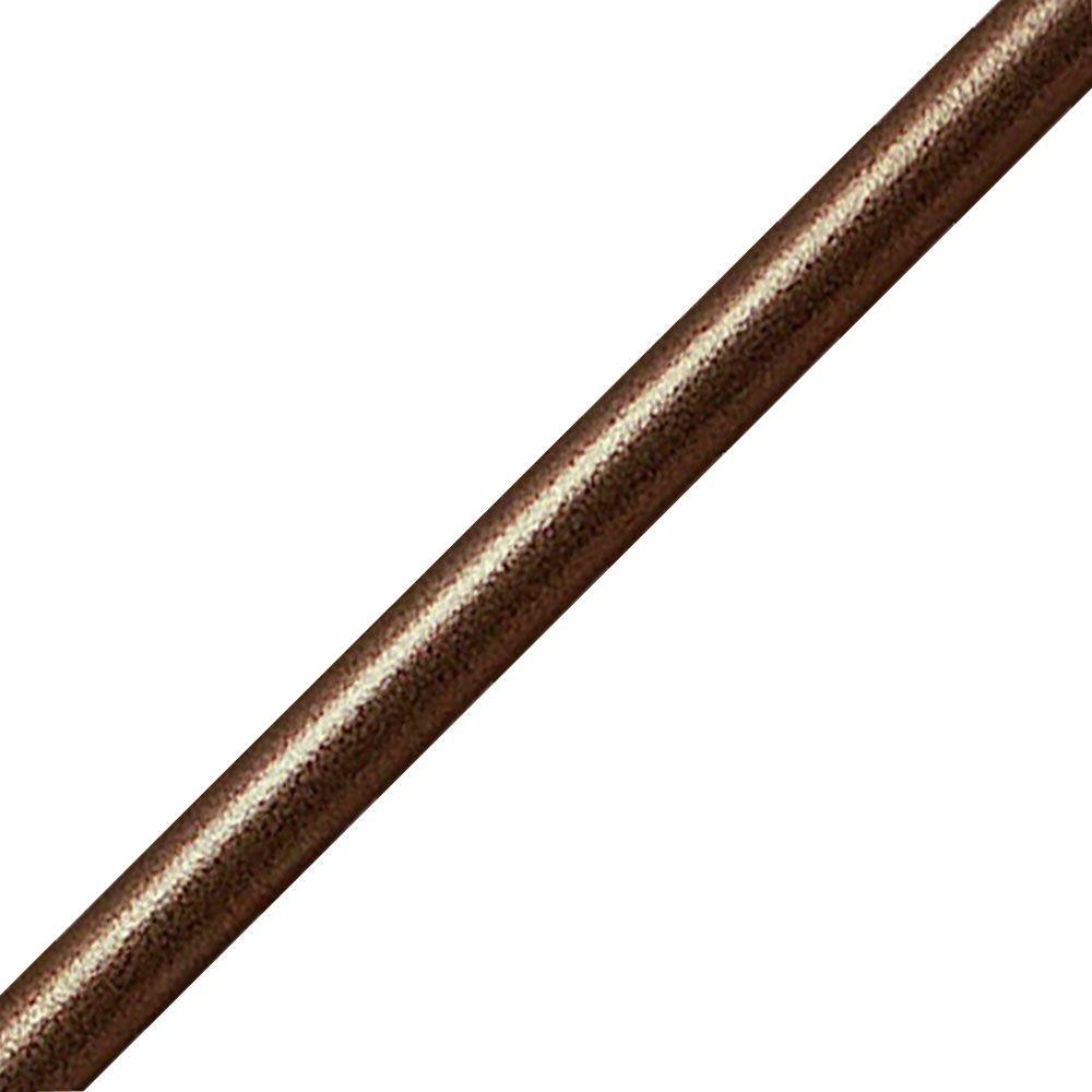 Quiet Glide Hammered Antique Brass Rail
