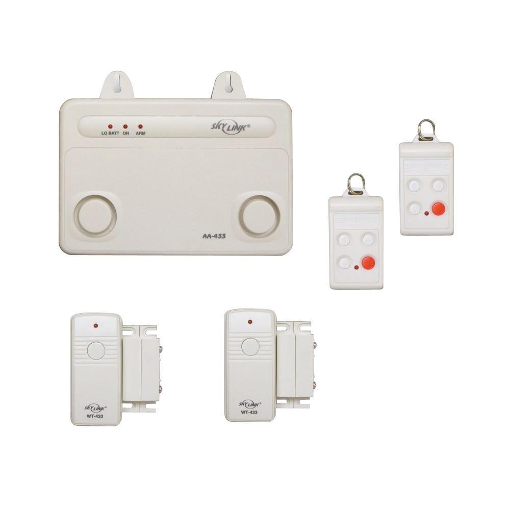 Novi Security 4 In 1 Wireless Home Security Sensor Kit