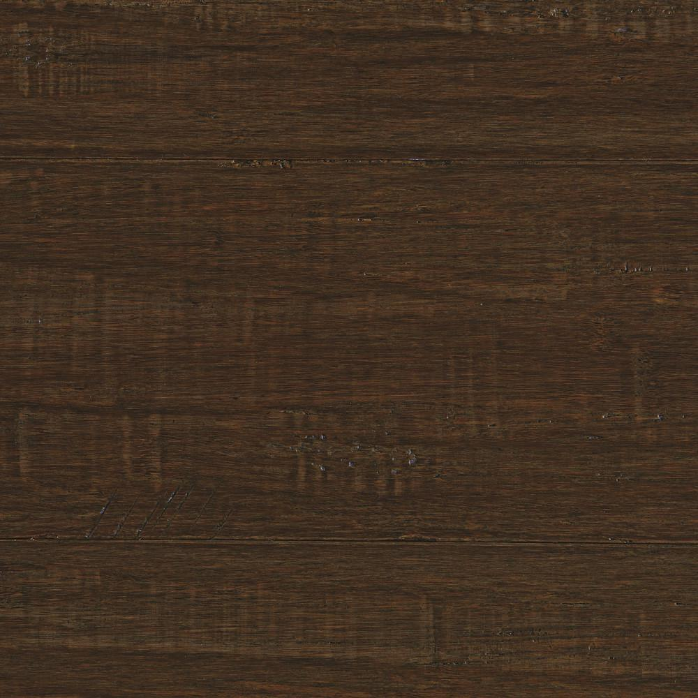 Take Home Sample - Hand Scraped Strand Woven Ceruse Solid Bamboo