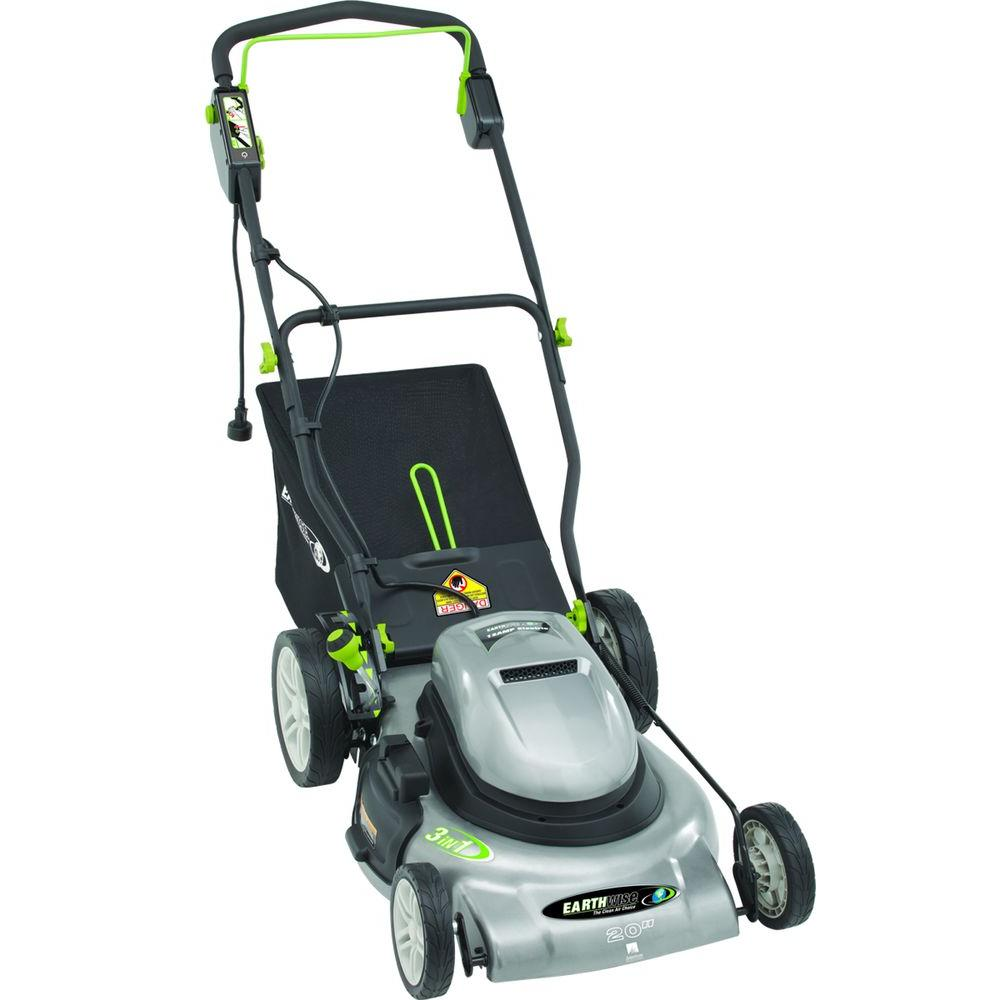 Corded Electric Walk Behind Push Lawn Mower