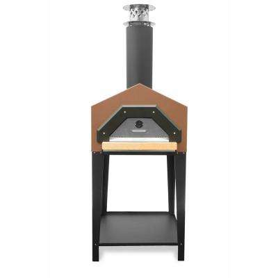Americano 29-1/2 in. x 30 in. Wood Burning Pizza Oven in Terra Cotta