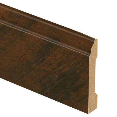 Antique Cherry 9/16 in. Thick x 3-1/4 in. Wide x 94 in. Length Laminate Wall Base Molding