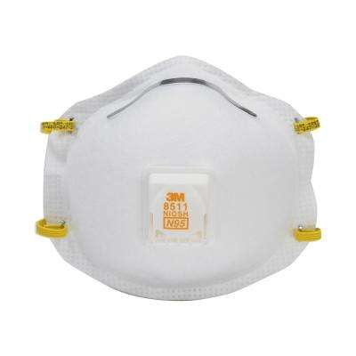 N95 Lawn and Garden Valved Respirator Dust Mask (2-Pack) (Case of 6)