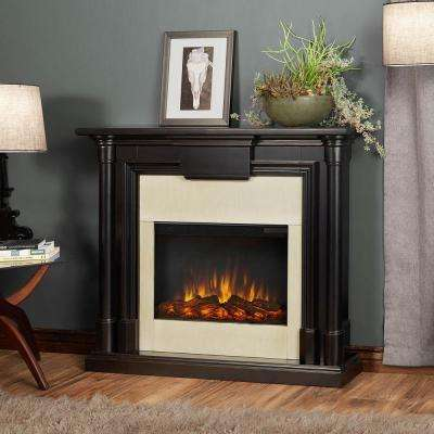 Maxwell 48 in. Electric Fireplace in Blackwash