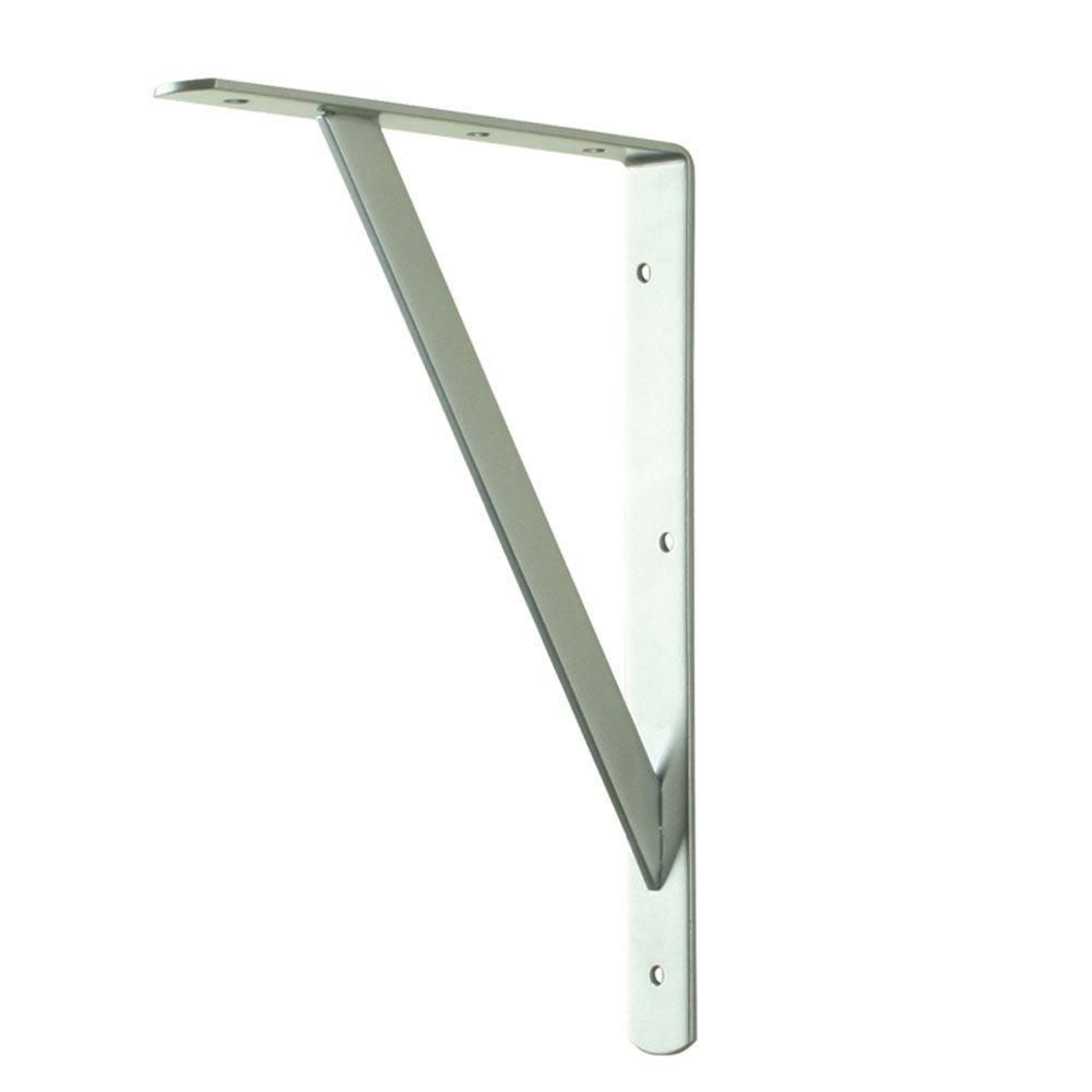everbilt 16 in x 10 in white heavy duty shelf bracket 14826 the home depot. Black Bedroom Furniture Sets. Home Design Ideas