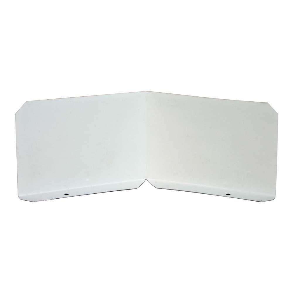 Construction Metals Splash Shield (2-Pack)