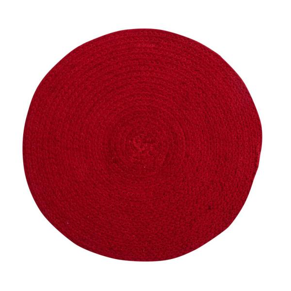 Better Trends Cotton Solid Red Placemats SS-PLCB15RRD