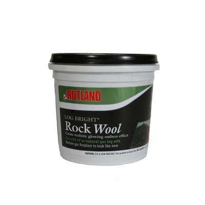 8 oz. Log Bright Rock Wool Tub