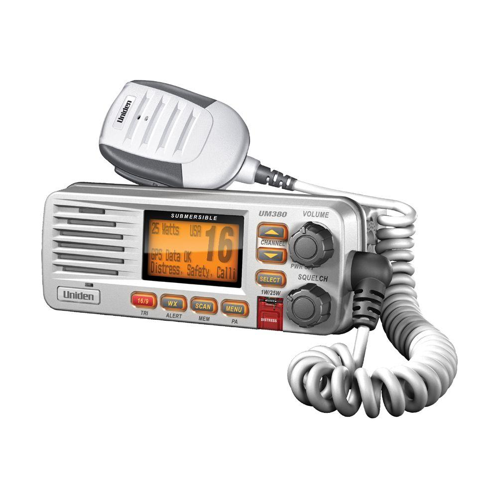 Uniden VHF Fixed Mount Radio - White