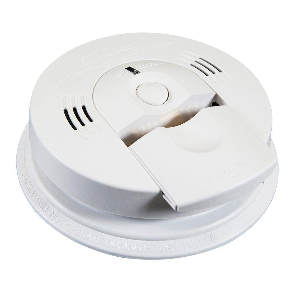 Kidde Intelligent Battery Operated Combination Smoke and Carbon Monoxide Alarm with Voice Alert