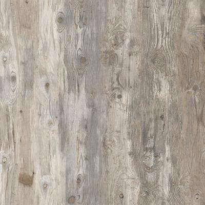 Take Home Sample - Henlopen Grey Oak Luxury Rigid Vinyl Plank Flooring - 4 in. x 4 in.