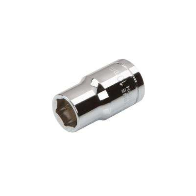 3/8 in. Drive 10 mm 6-Point Shallow Socket