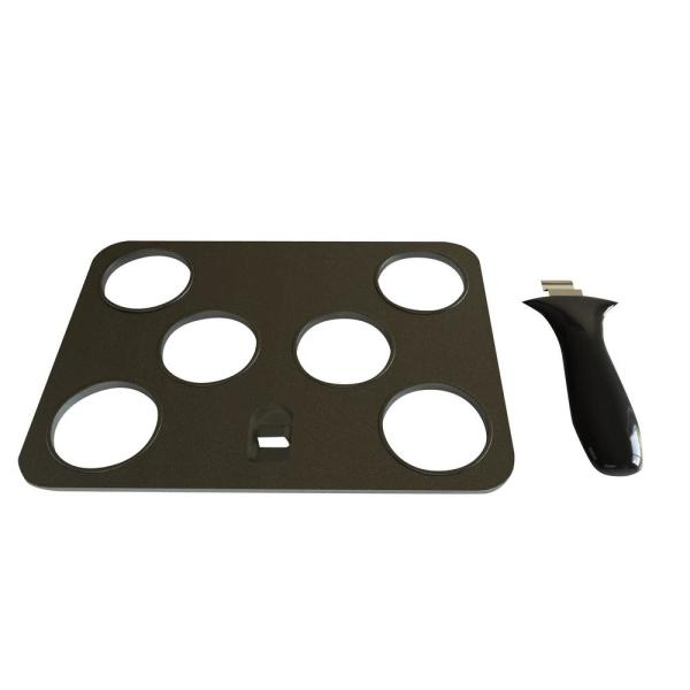 BLACK+DECKER Evolve Non-Stick Indoor Grill Slider Accessory Plate GFP84SP