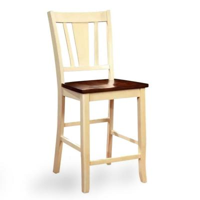 Dover II Vtage White Counter Height Chair