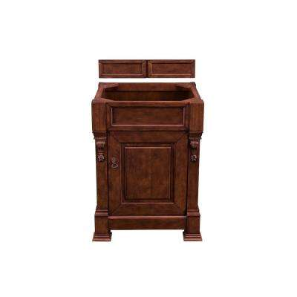 Brookfield 26 in. W Bathroom Single Vanity Cabinet Only in Warm Cherry