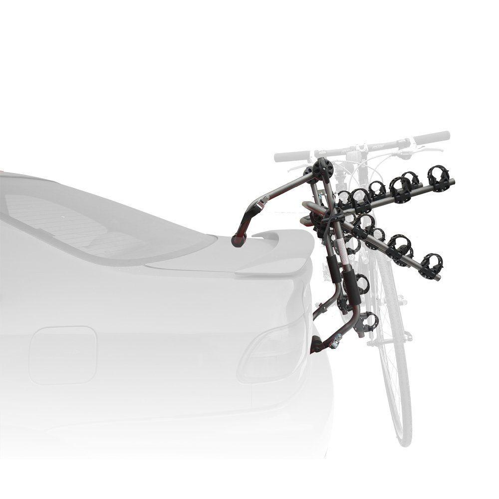 Stoneman Sports Sparehand Trunk Mounted 3-Bike Car and SUV Rack for ...