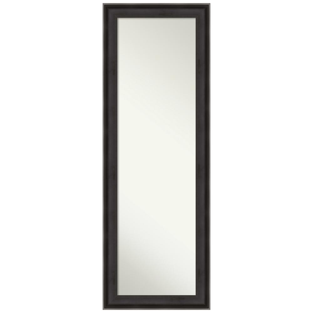 Amanti Art Allure Charcoal 18.38 in. x 52.38 in. On the Door Mirror was $323.0 now $189.92 (41.0% off)