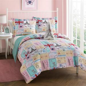 Bonjour 4-Piece Full Comforter Set by