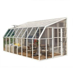 Rion Sun Room 8 ft. x 16 ft. Clear Greenhouse by Rion