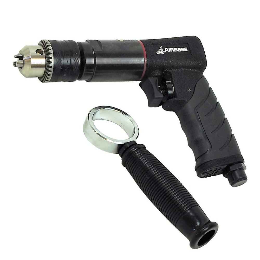 "Airbase 1/2 "" Industrial Duty Reversible Air Drill"
