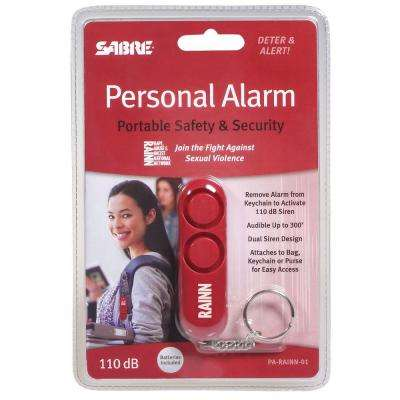 Sabre Personal Alarm - Red Key Chain with Loud Attention Grabbing Siren