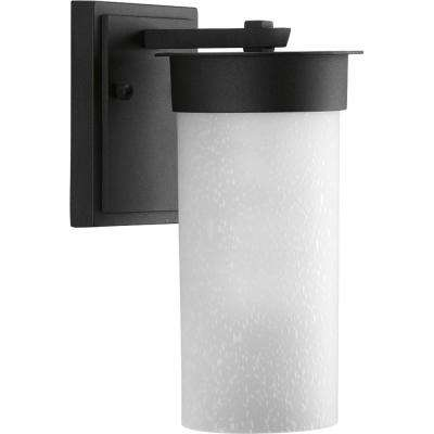 Hawthorne 1-Light Outdoor Black Small Wall Lantern